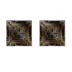 Art Nouveau Cufflinks (square)
