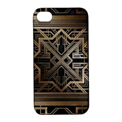Art Nouveau Apple Iphone 4/4s Hardshell Case With Stand