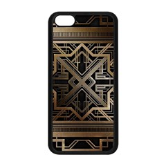 Art Nouveau Apple Iphone 5c Seamless Case (black)