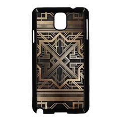 Art Nouveau Samsung Galaxy Note 3 Neo Hardshell Case (black)