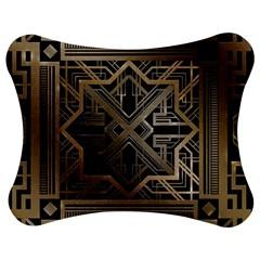 Art Nouveau Jigsaw Puzzle Photo Stand (bow)