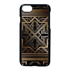 Art Nouveau Apple Iphone 7 Seamless Case (black)