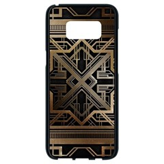 Art Nouveau Samsung Galaxy S8 Black Seamless Case