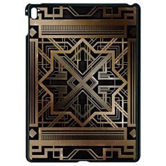 Art Nouveau Apple Ipad Pro 9 7   Black Seamless Case