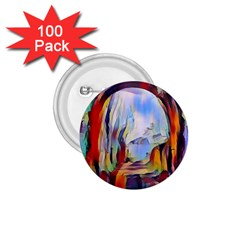 Abstract Tunnel 1 75  Buttons (100 Pack)