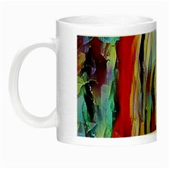 Abstract Tunnel Night Luminous Mugs