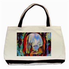 Abstract Tunnel Basic Tote Bag