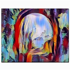 Abstract Tunnel Canvas 8  X 10
