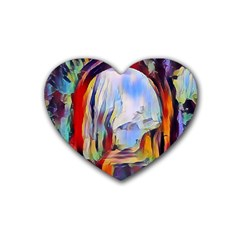 Abstract Tunnel Heart Coaster (4 Pack)
