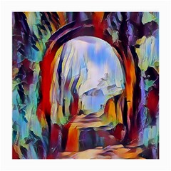 Abstract Tunnel Medium Glasses Cloth