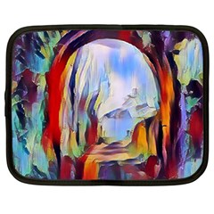 Abstract Tunnel Netbook Case (xl)  by 8fugoso