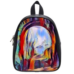 Abstract Tunnel School Bag (small)
