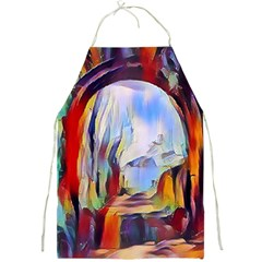 Abstract Tunnel Full Print Aprons