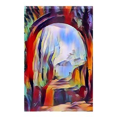 Abstract Tunnel Shower Curtain 48  X 72  (small)