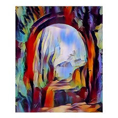 Abstract Tunnel Shower Curtain 60  X 72  (medium)