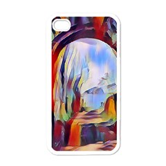 Abstract Tunnel Apple Iphone 4 Case (white)