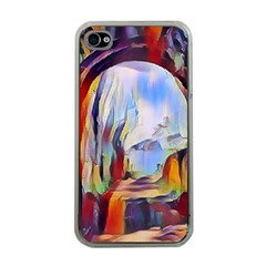 Abstract Tunnel Apple Iphone 4 Case (clear)