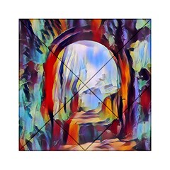 Abstract Tunnel Acrylic Tangram Puzzle (6  X 6 )