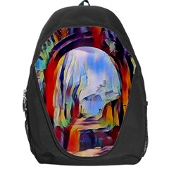 Abstract Tunnel Backpack Bag