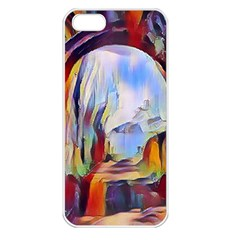 Abstract Tunnel Apple Iphone 5 Seamless Case (white)