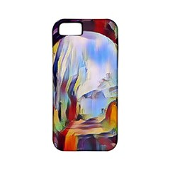Abstract Tunnel Apple Iphone 5 Classic Hardshell Case (pc+silicone)