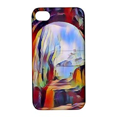 Abstract Tunnel Apple Iphone 4/4s Hardshell Case With Stand