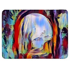 Abstract Tunnel Samsung Galaxy Tab 7  P1000 Flip Case