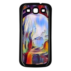 Abstract Tunnel Samsung Galaxy S3 Back Case (black)