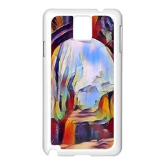 Abstract Tunnel Samsung Galaxy Note 3 N9005 Case (white)
