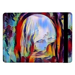 Abstract Tunnel Samsung Galaxy Tab Pro 12 2  Flip Case