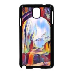 Abstract Tunnel Samsung Galaxy Note 3 Neo Hardshell Case (black)