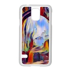 Abstract Tunnel Samsung Galaxy S5 Case (white)