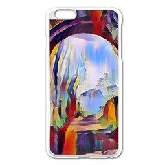 Abstract Tunnel Apple Iphone 6 Plus/6s Plus Enamel White Case