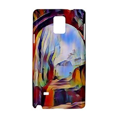 Abstract Tunnel Samsung Galaxy Note 4 Hardshell Case