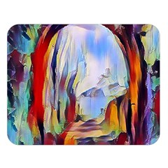 Abstract Tunnel Double Sided Flano Blanket (large)