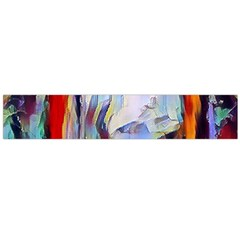 Abstract Tunnel Flano Scarf (large)