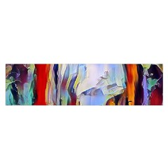 Abstract Tunnel Satin Scarf (oblong)