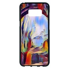 Abstract Tunnel Samsung Galaxy S8 Plus Black Seamless Case