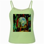 abstract tunnel Green Spaghetti Tank