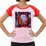 abstract tunnel Women s Cap Sleeve T-Shirt