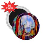 abstract tunnel 2.25  Magnets (10 pack)