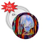 abstract tunnel 2.25  Buttons (100 pack)