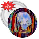 abstract tunnel 3  Buttons (10 pack)