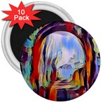 abstract tunnel 3  Magnets (10 pack)