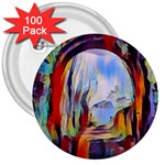 abstract tunnel 3  Buttons (100 pack)
