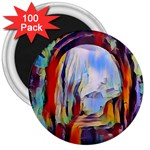 abstract tunnel 3  Magnets (100 pack)