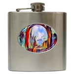 abstract tunnel Hip Flask (6 oz)