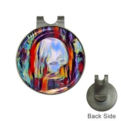 Abstract Tunnel Hat Clips With Golf Markers by 8fugoso