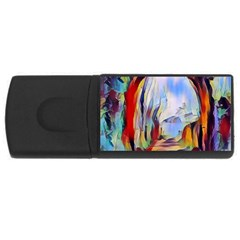 Abstract Tunnel Rectangular Usb Flash Drive by 8fugoso