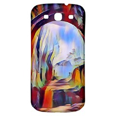 Abstract Tunnel Samsung Galaxy S3 S Iii Classic Hardshell Back Case by 8fugoso